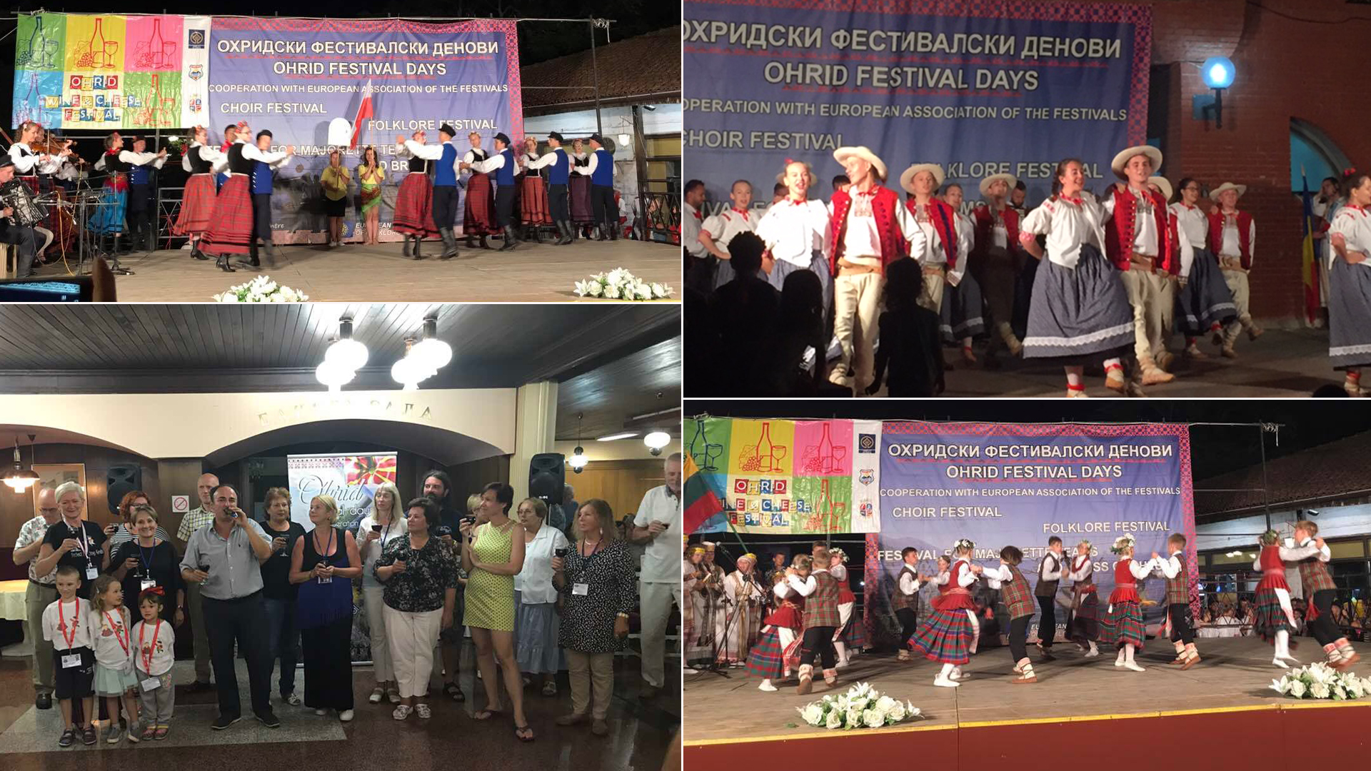 Over  Participants From  Countries Took Part In The Festival Ohrid Waves Macedonia