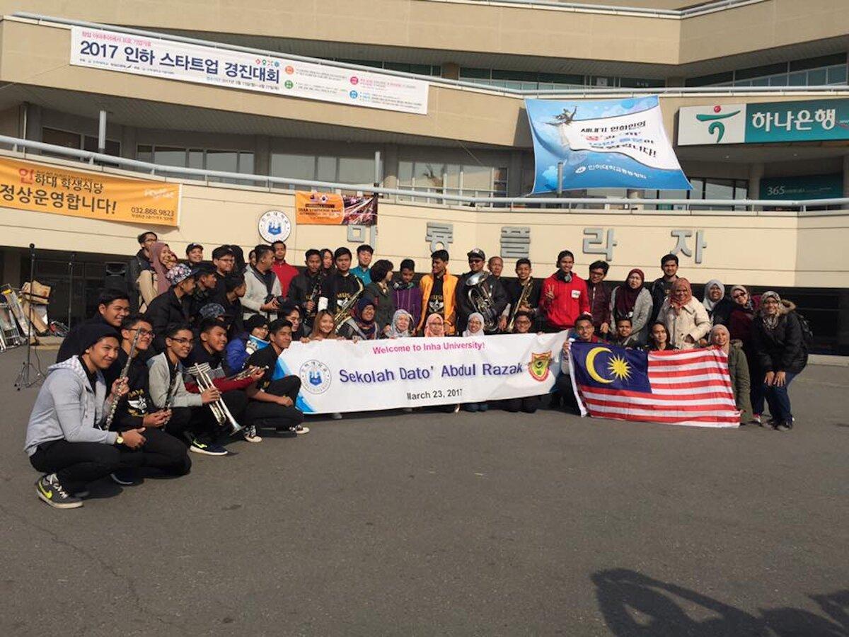 Sdar Tkc Symphonic Band At Sekolah Dato Abdul Razak Eaff European Association Of Folklore Festivals